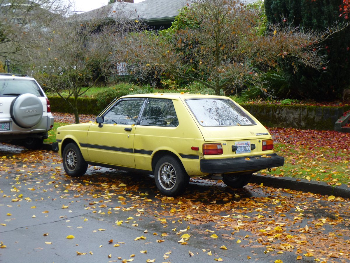 Curbside Classic 1981 Toyota Starlet The Last Of The
