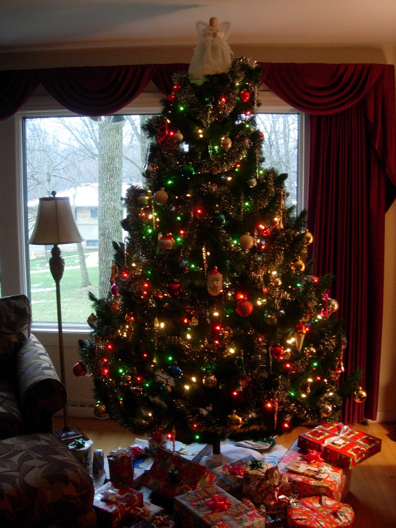Gallery For gt 1980s Christmas Tree