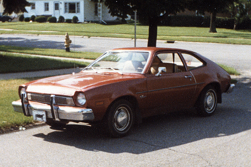 Coal 1975 Ford Pinto Fecal Brown Freedom