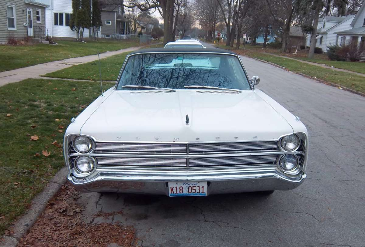 Old Plymouth Headlight : Curbside classic plymouth vip very important