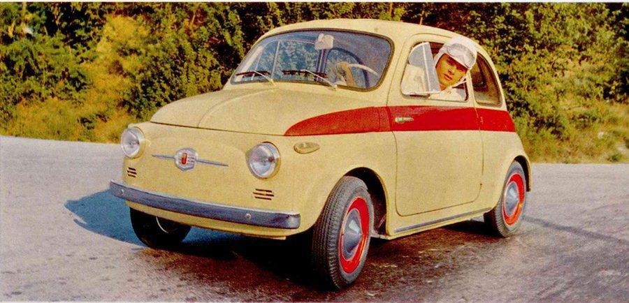 1960 Auto Parade Fiat 500 Sport  900