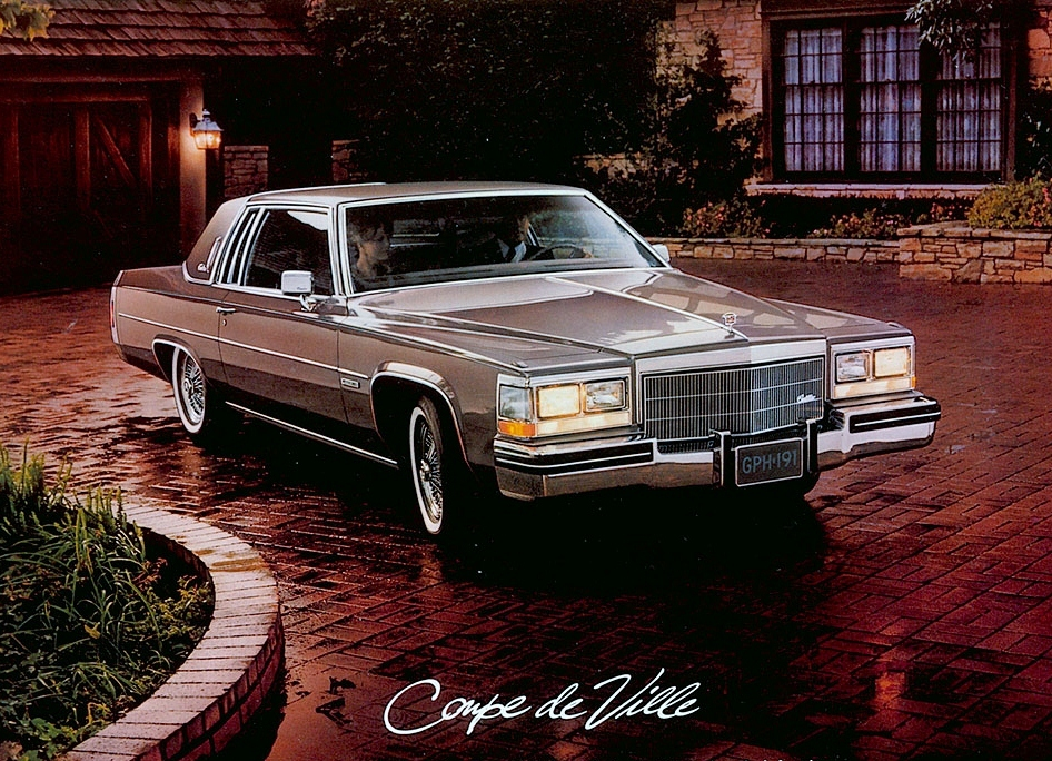 curbside classic 1984 cadillac coupe de ville nice car. Black Bedroom Furniture Sets. Home Design Ideas