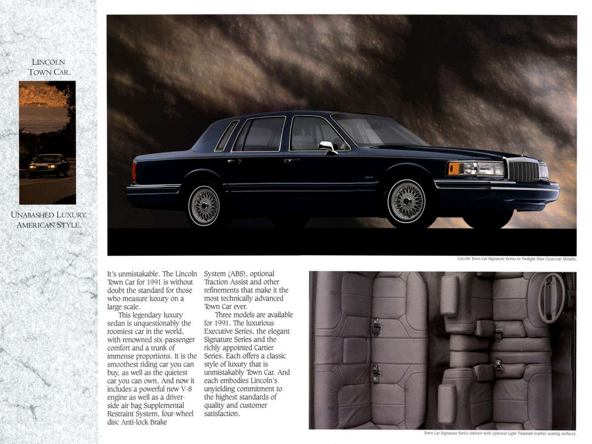 1991 Lincoln Full Line-02