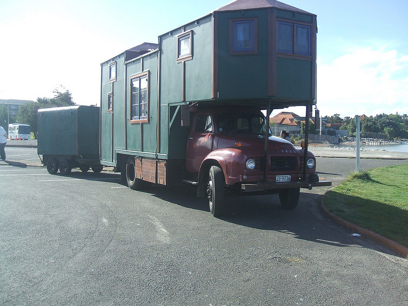 Bedford house truck