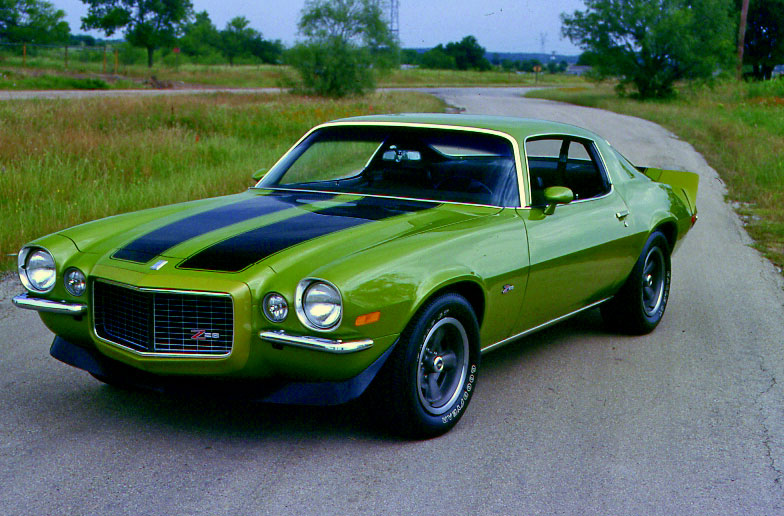 Mustang Z28 >> CCOTY 1970 Nomination: 1970 Camaro – Is There Any Other Choice?