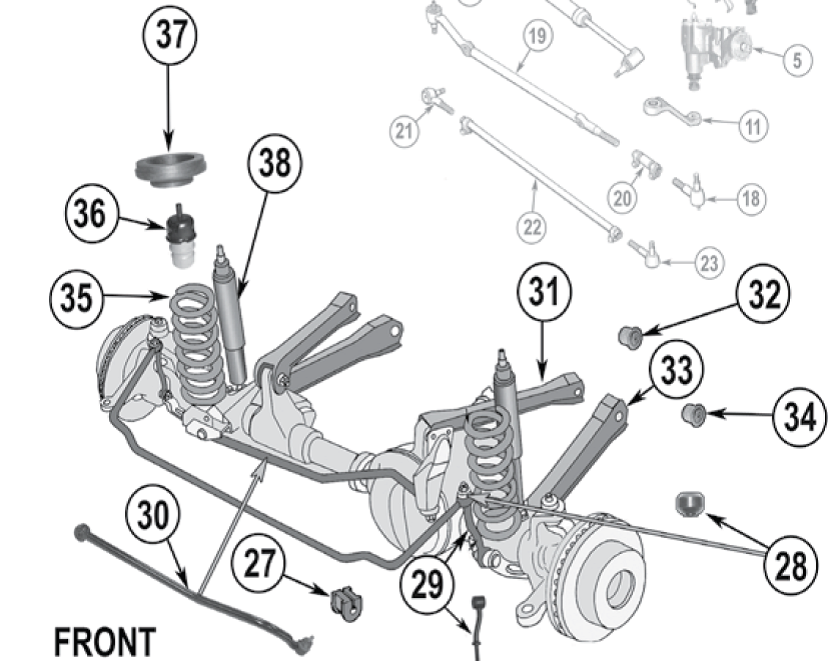 Jeep XJ_Front_Suspension