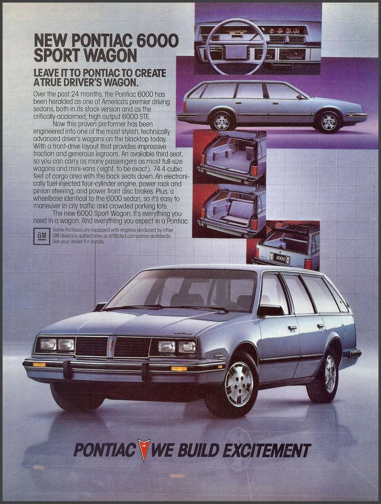 Pontiac 6000 wagon 1984