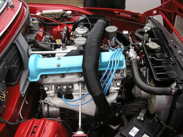 Saab 99 engine