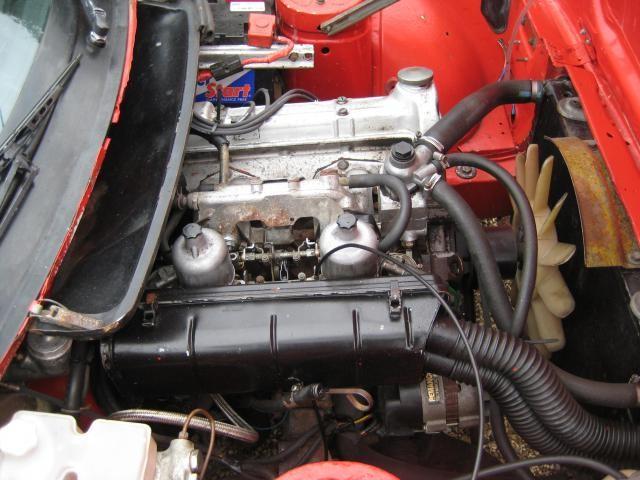 TR7 engine