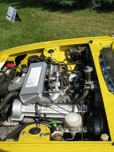 Triumph Stag V8 engine
