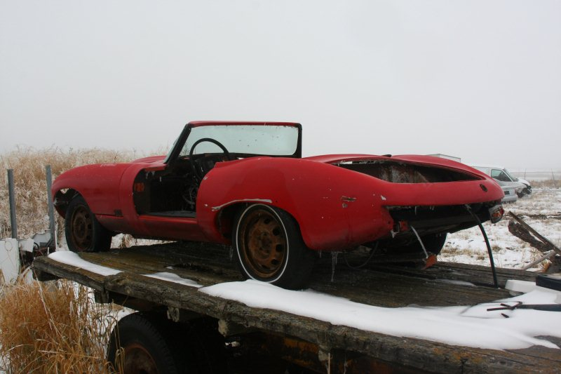 Jaguar E-Type Kit Car rear