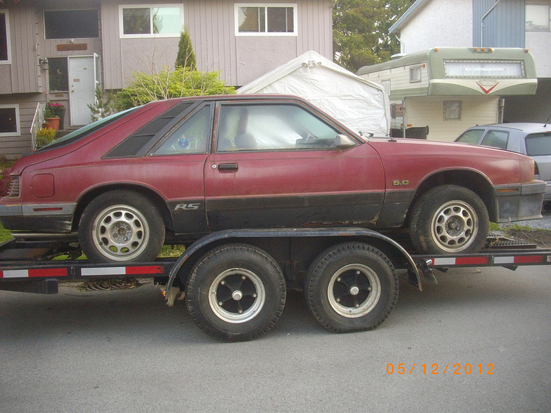 Mercury Capri RS side