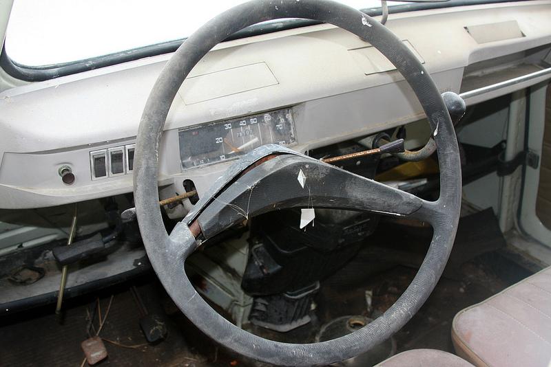 Renault 4 dash