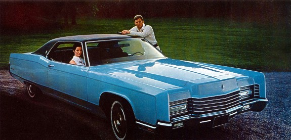 curbside classic 1970 lincoln continental coupe hot rod. Black Bedroom Furniture Sets. Home Design Ideas