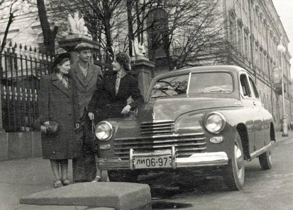 3 GAZ M20