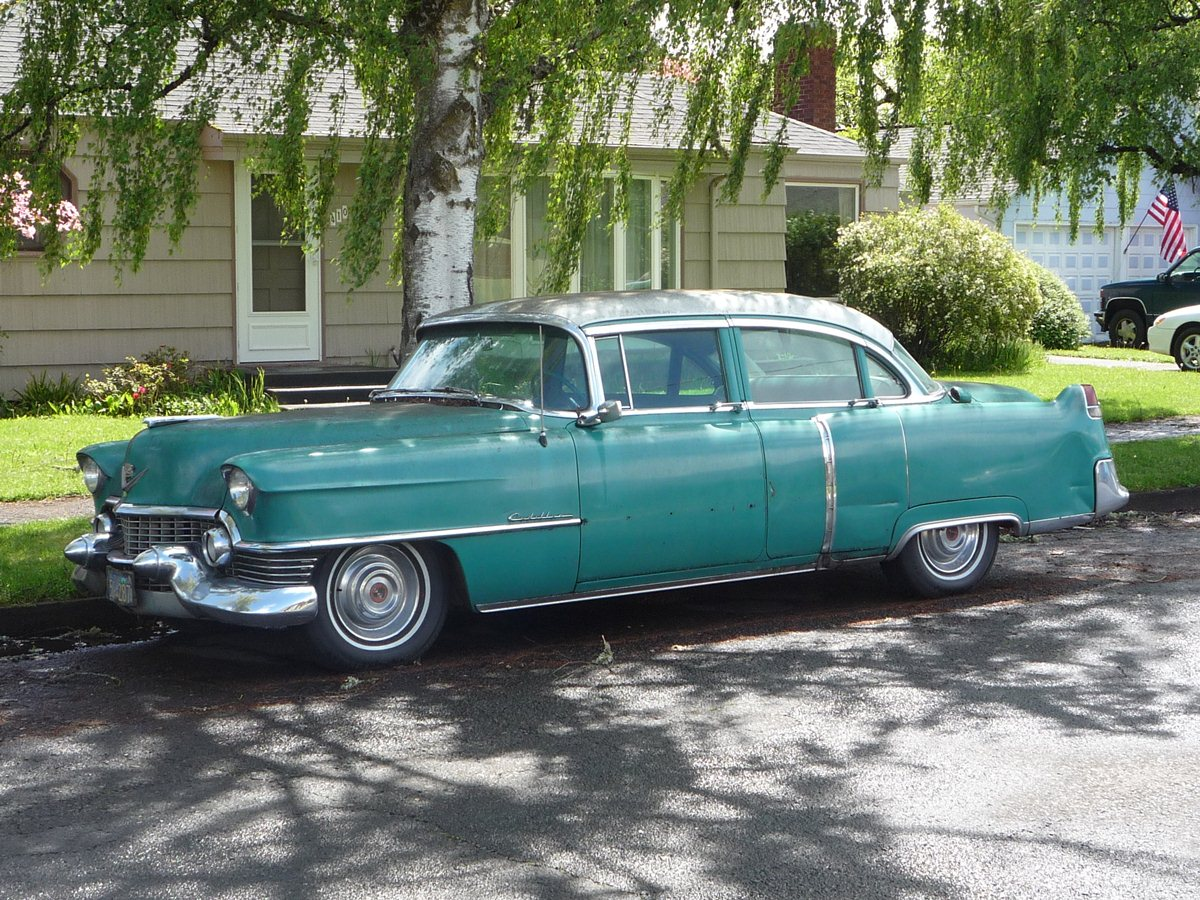 Curbside Classic 1954 Cadillac Series 62 Sedan Gm S
