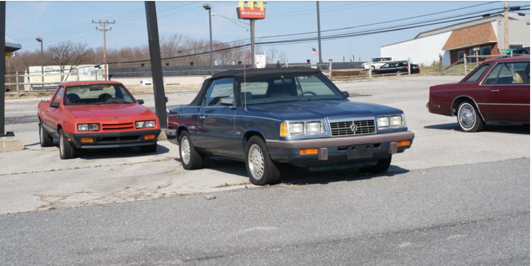 Chrysler Cordoba and K