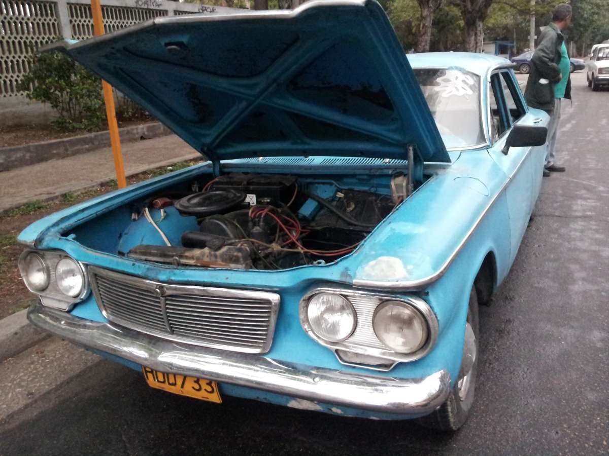 Corvair front engine