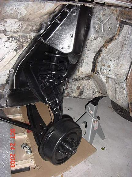 65 Ford Falcon Front Suspension