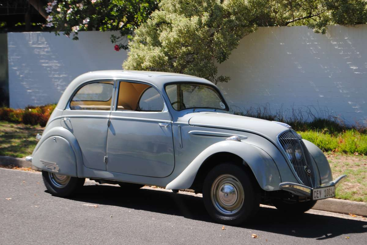 Curbside Classic 1948 Peugeot 202 The Baby Chrysler Airflow