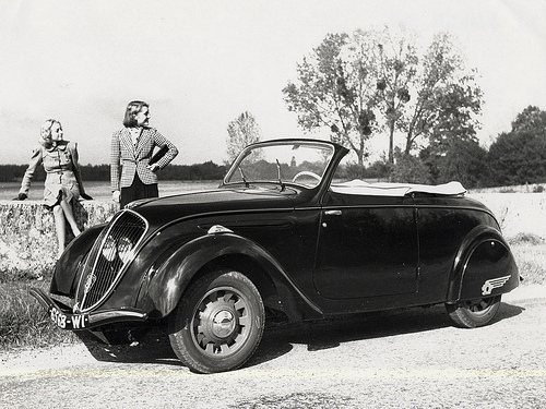Peugeot 202 cabrio