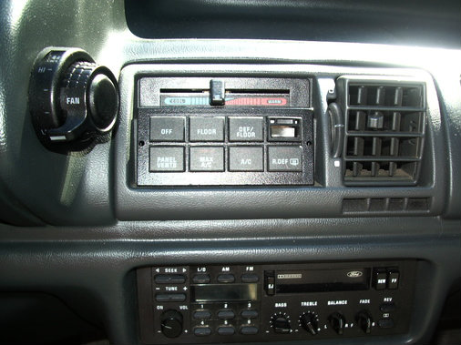 1993 Ford Tempo Stereo Removal
