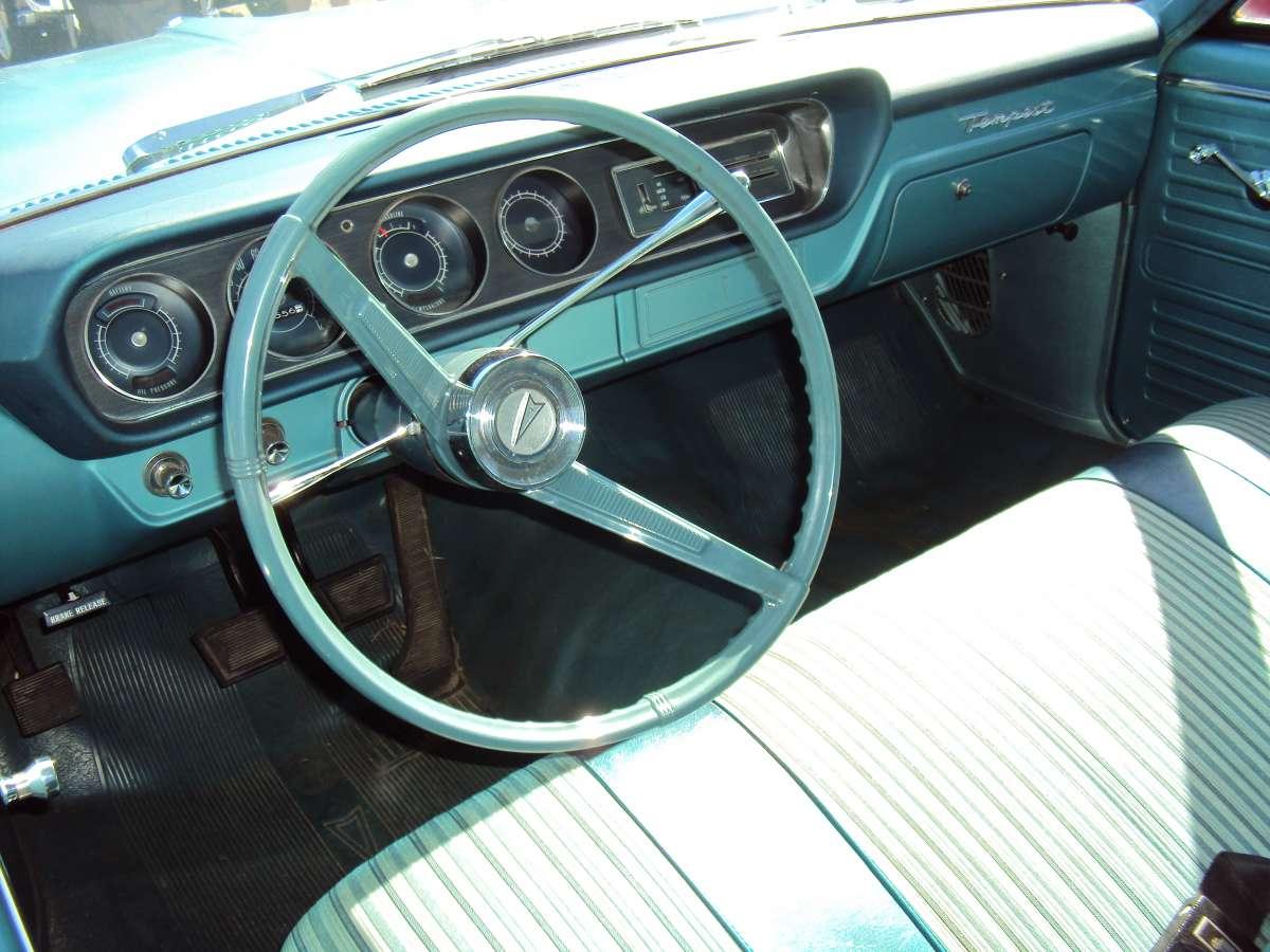 Cc Car Show Classic 1964 Pontiac Tempest Coupe Bare Bones