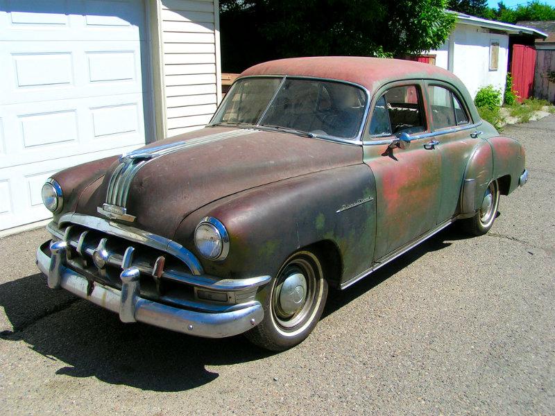 Patina Week Finale Canadian 1950 Pontiac Silver Streak