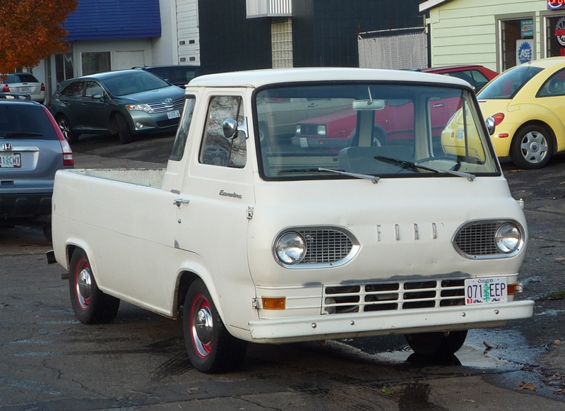 curbside classic 1963 ford econoline pickup keep the sand bags handy. Black Bedroom Furniture Sets. Home Design Ideas