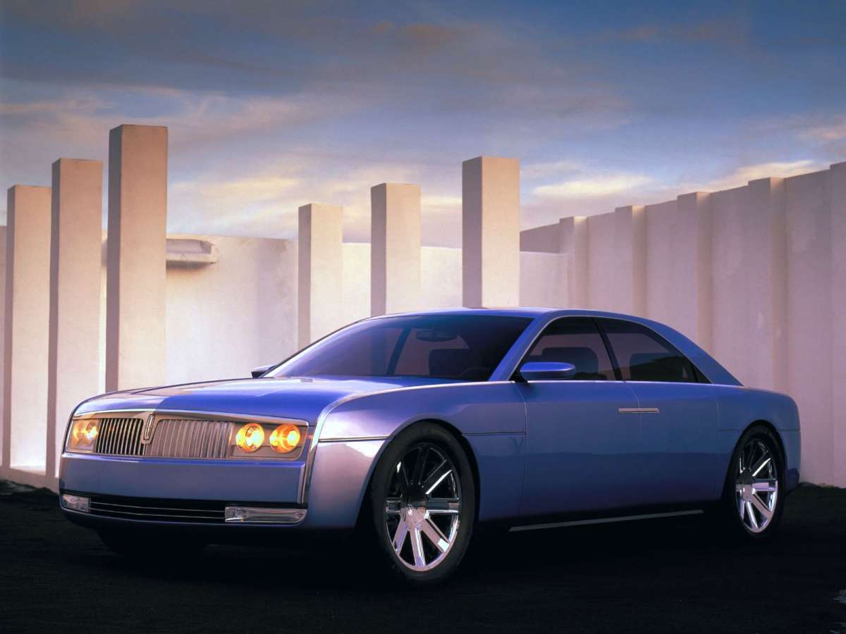 concept classic 2002 lincoln continental concept what might have been. Black Bedroom Furniture Sets. Home Design Ideas