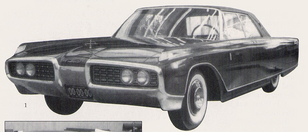 Lincoln Continental clay 1959