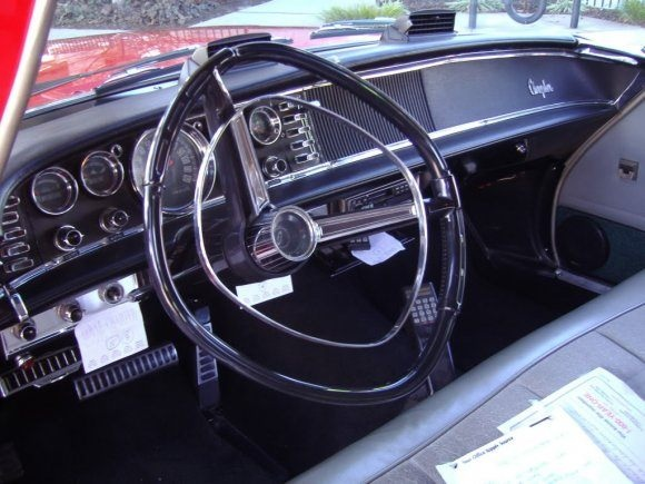 Photo from BaT of a 1963 Chrysler New Yorker. Equipped exactly like subject vehicle.