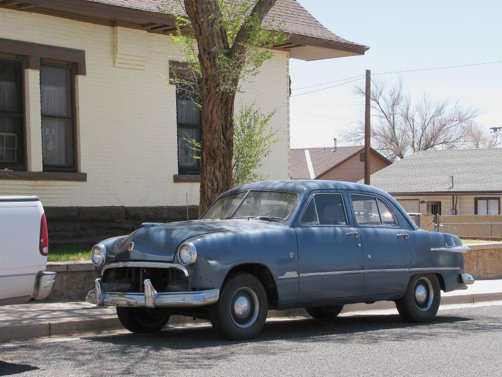1951 Ford sedan Winslow