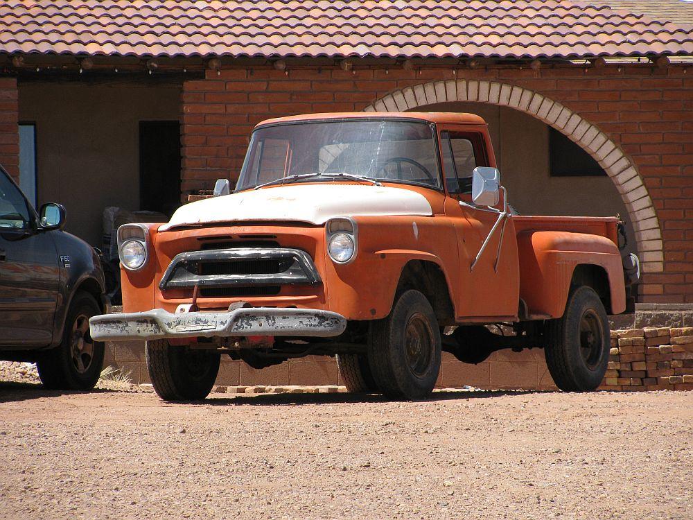 1957 International A-series pickup