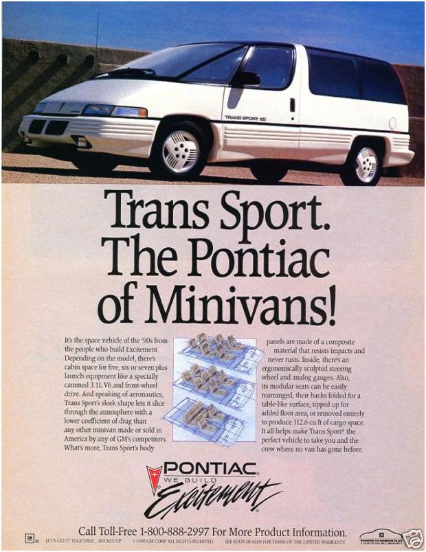 The Pontiac of Minivans