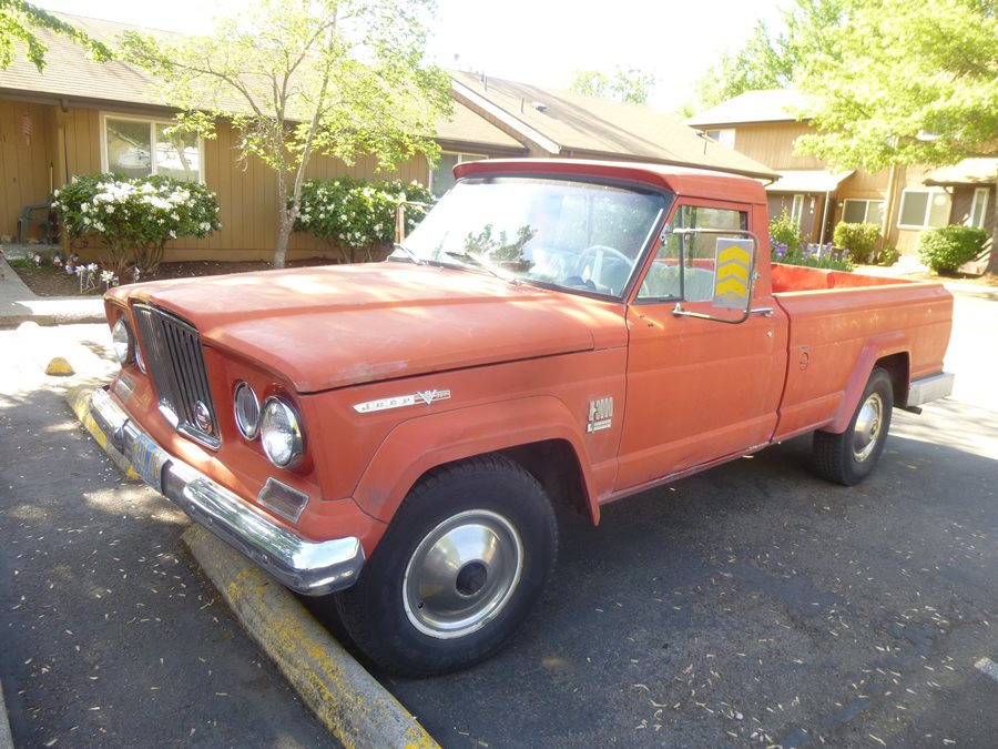 Curbside Classic: 1967 Jeep Gladiator J3000 – The Truck Of ...