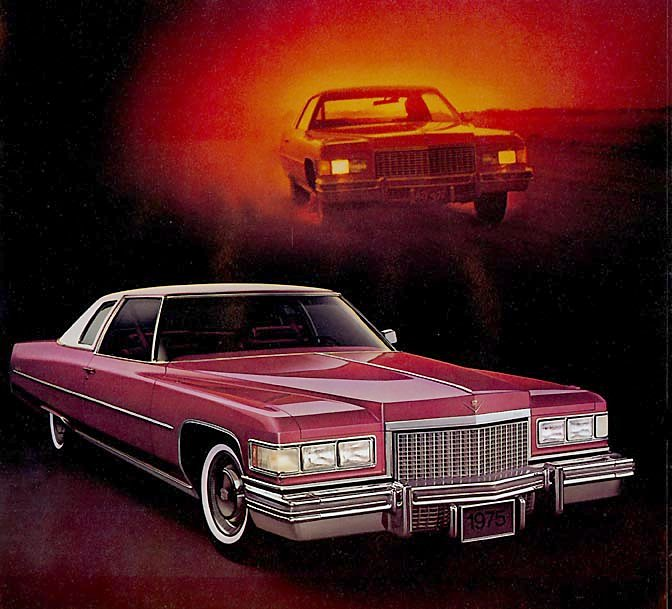 Cadillac 1975 coupe deville