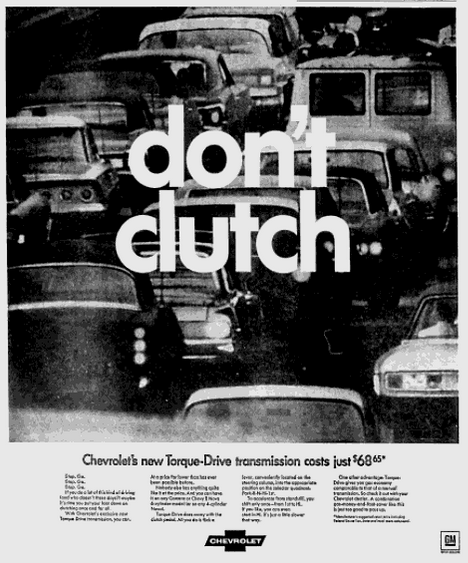 Chevrolet torque drive ad