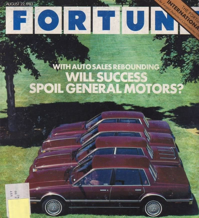 Fortune cover GM A bodies