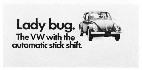 VW autostick ad 2