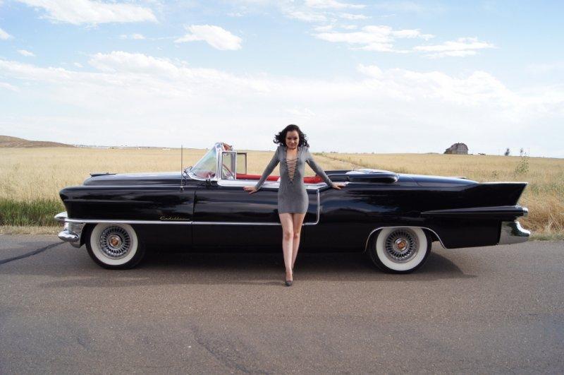 Cadillac 1955 Eldorado black
