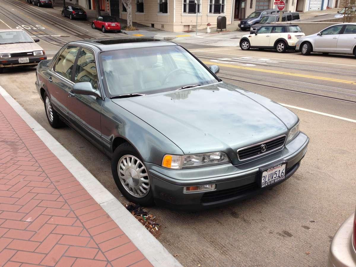 Curbside Classic 1994 Acura Legend True Life I M A Legend Curbside Classic