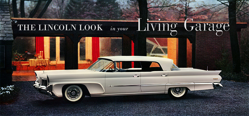 Lincoln 1958  side