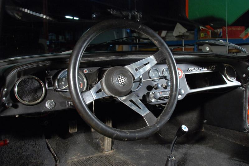 Manic GT dashboard