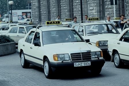 Mercedes -W124-Taxi