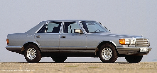 Mercedes W126 1980