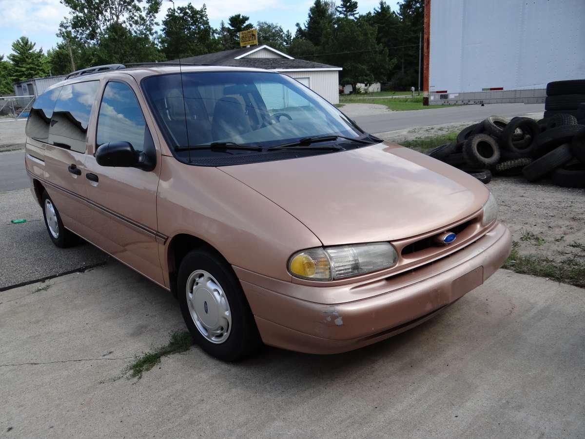 curbside classic 1995 ford windstar gl bullets dodged. Black Bedroom Furniture Sets. Home Design Ideas