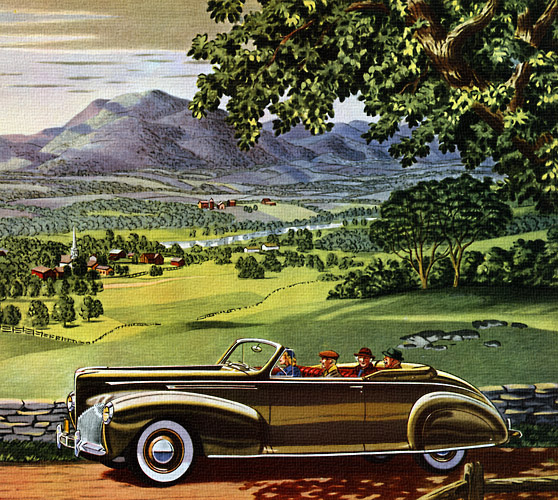 1940 lincoln zephyr they don t make ads like this anymore. Black Bedroom Furniture Sets. Home Design Ideas