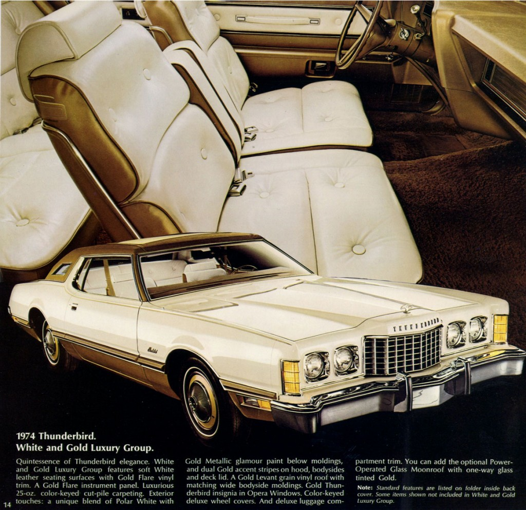 Curbside Classic: 1975 Ford Thunderbird – Cherries are ...