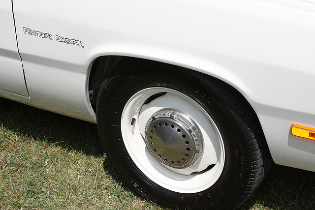 1976 Plymouth Feather Duster wheel